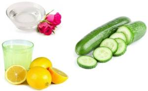 Cucumber-rose-water-and-lemon-juice-pack