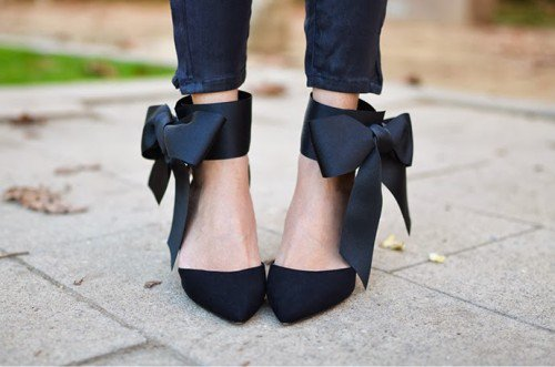 New-Beautiful-Fashion-Designer-Shoes-With-Bows-In-2015-For-Ladies-By-DIY-7